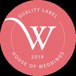 logo house of weddings